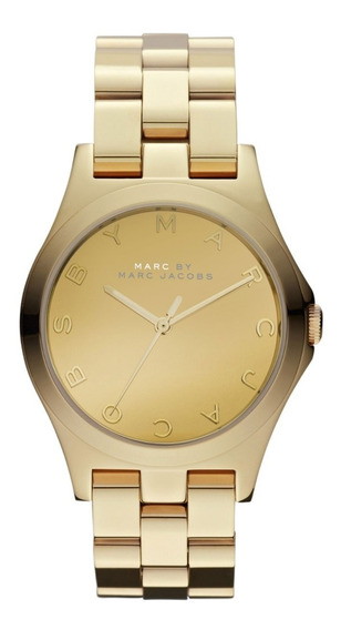 Relógio Marc Jacobs Gold Mbm3211