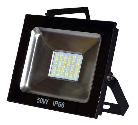 Refletor Eco Led Externo Smd Ip66 50w 6500k Br Biv Up Led