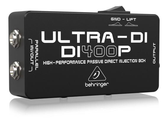 Direct Box Behringer Di400p Di-400p Passivo Profissional +nf