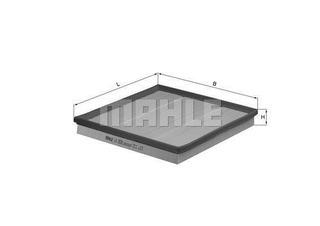 Filtro Aire Mahle Bmw 5 (f07) 535i X3 (f25) 35i X4