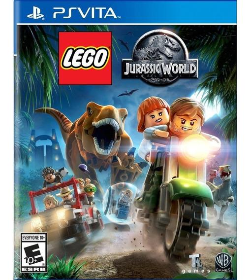 Lego Jurassic World Ps Vita Mídia Física