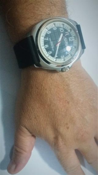 Relógio Cosmos Na Caixa C/ Manual, Etiqueta, Orig 45mm Usado