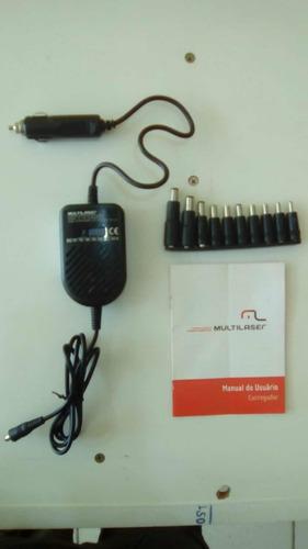 Carregador Automotivo Para Notebook Multilaser