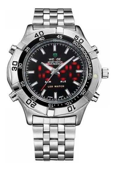 Relógio Masculino Weide Anadigi Esporte Wh-905 Preto