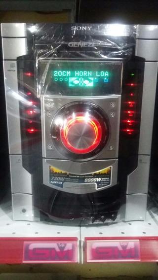 Mini System Sony Mhc-gnx800 730w Rms Revisado Com Garantia