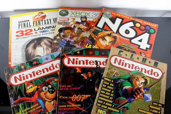 Revistas Gaming Nintendo 64, Xbox