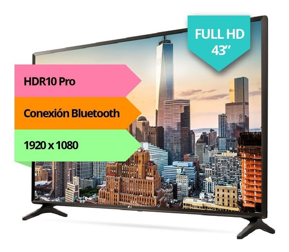 Smart Tv Led 43 LG Fhd Hdmi Usb 43lk5700 Netflix Youtube Pc