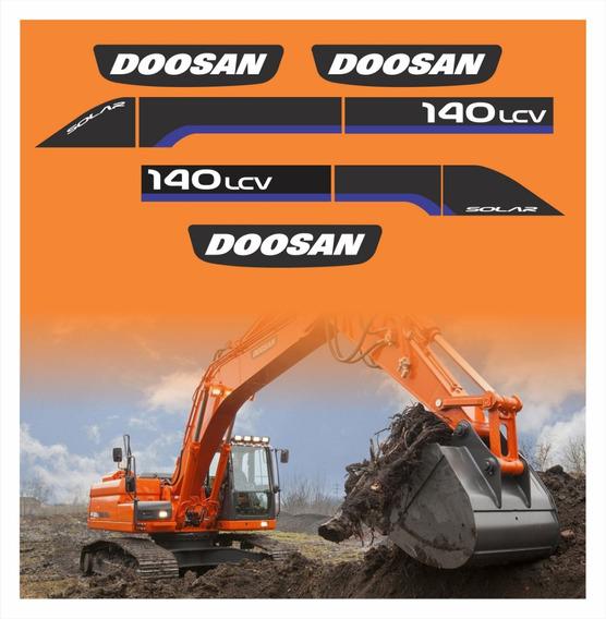 Escavadeira Doosan 140 - Acessórios para Veículos no Mercado