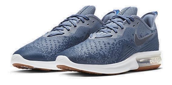 Tênis Nike Air Max Sequent 4 Azul Original - Footlet