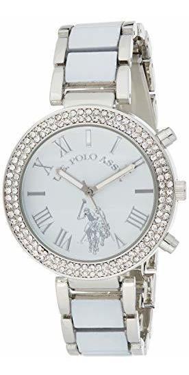 Polo Assn. Reloj De Cuarzo Analógico Para Mujer Usc40086, Co