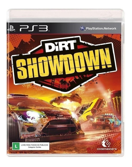 Dirt Showdown - Jogo P/ Ps3 Original - Midia Fisica Lacrado