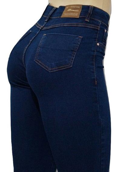 Calça Sawary Jeans Cintura Alta Original Sawary Com Elastano