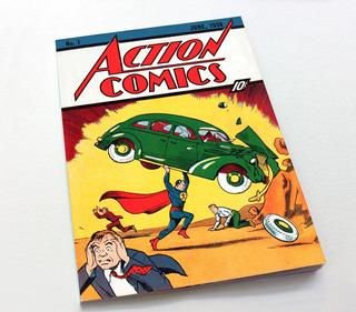 Action Comics Numero 1 Hq Clássica Super Man - Facsímile