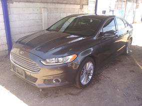 Ford Fusion 2.5 Se Luxury Plus Mt 2015