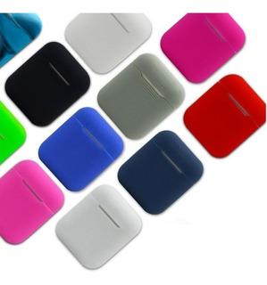 Apple AirPods Estuche Protector Funda En Silicona 8 Colores