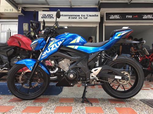 Suzuki Gsx-s 150 2022 ¡sólo 4000 Km! Fácil Financiación