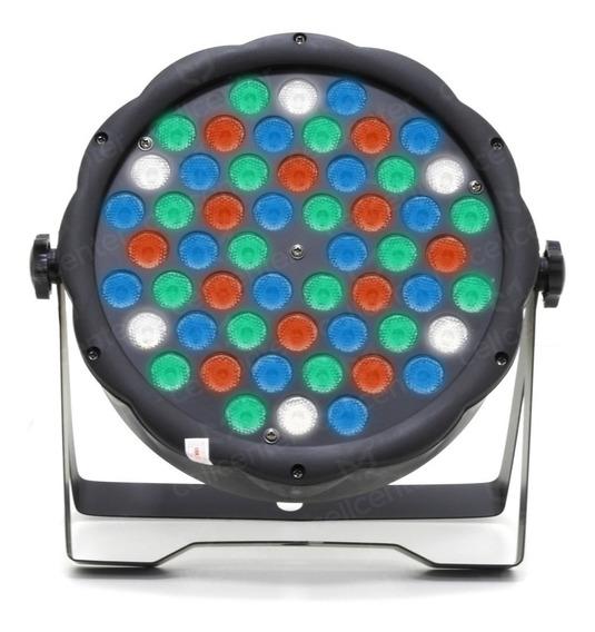 Canhão De Led Para Festa Com 54 Leds 0.5w Rgbw Dmx Iluminação Luatek Py-54dj. Agora Fica Fácil Você Animar Sua Festa.