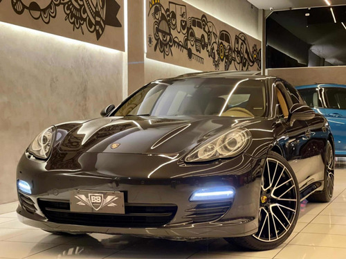Porsche Panamera 4.8 4s 2010 Com Teto E Interior Caramelo