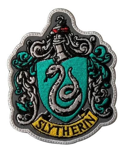 Parche Bordado Harry Potter Slytherin,