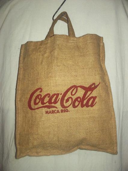 Bolso Arpillera Coca Cola
