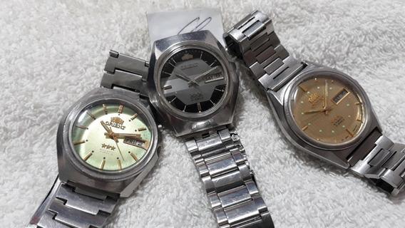 Relógios Orient, Masculinos, Automáticos (lote)