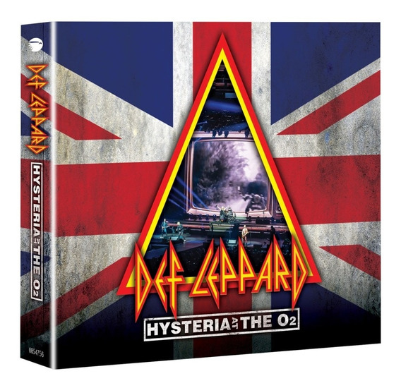 Def Leppard Hysteria At The O2 2 Cd + Blu-ray Import Nuevo