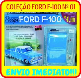 Coleção Ford F-100 Da Salvat Edição Nº1 - Envio Imediato!!!