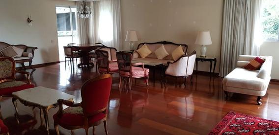 Apartamento 4 Dormitórios Na Av Bocaiuva Ao Lado Da Trompowsky 2 Vagas Livres - Ap0292