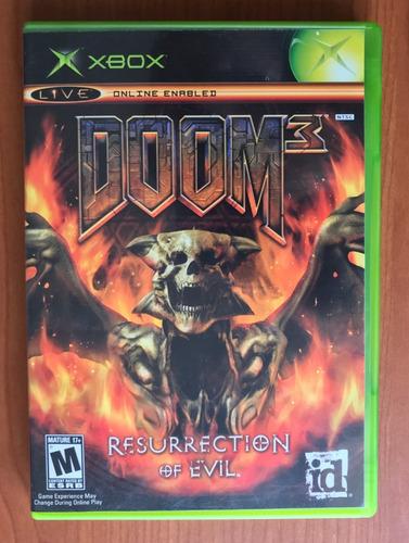 Doom 3: Resurrection Of Evil - Xbox Classico / Xbox 360