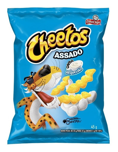 Salgadinho Sabor Requeijão Elma Chips Cheetos Onda 45g