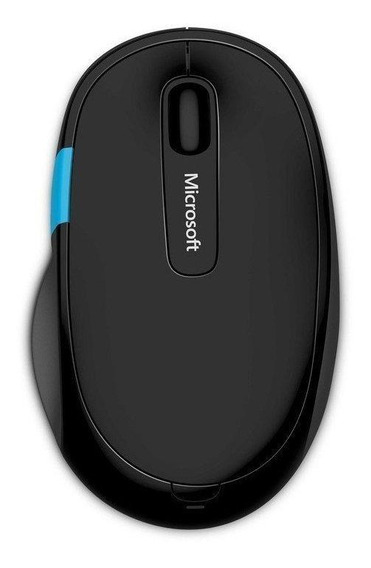 Mouse Microsoft Comfort Sculpt preto