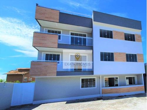 Apartamentos 3 Quartos, Quintal/terraço, Jardim Marilea, Rio Das Ostras. - Ap0492