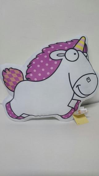 Unicornio Meu Malvado Favorito 24 Cm - Pelucia Almofada