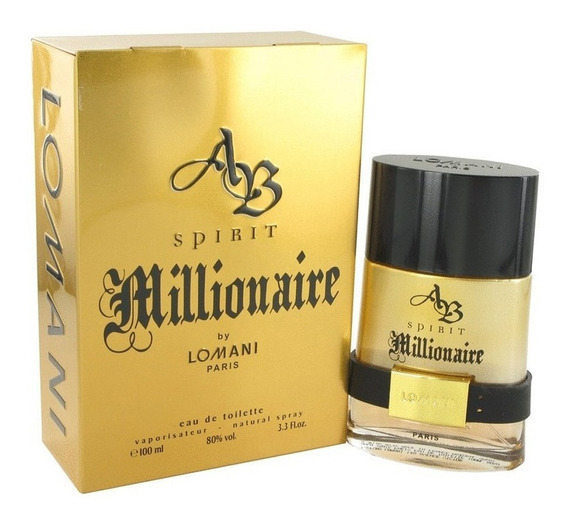 Perfume Spirit Millionaire Edt Lomani Masc 100ml Original