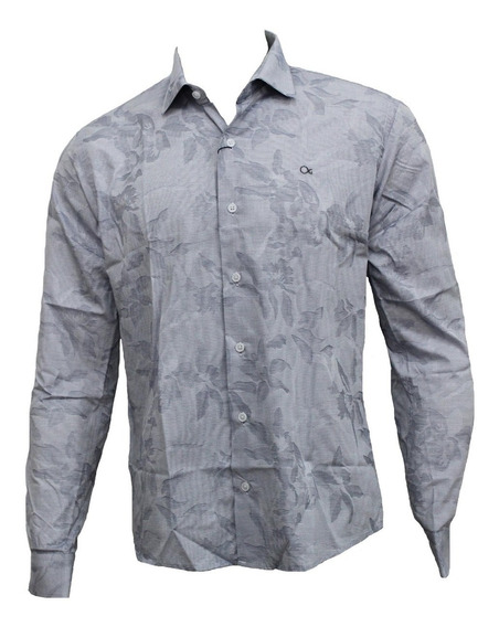Camisa Ogochi Masculina Listrada 001418482