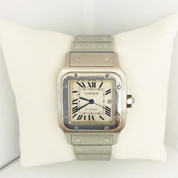 Reloj Caballero Cartier Santos Galbee Original 2319