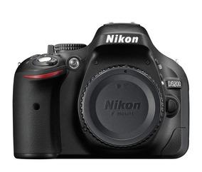 Nikon D5200 + Kit 18-200mm - 24mp Nova (eua)
