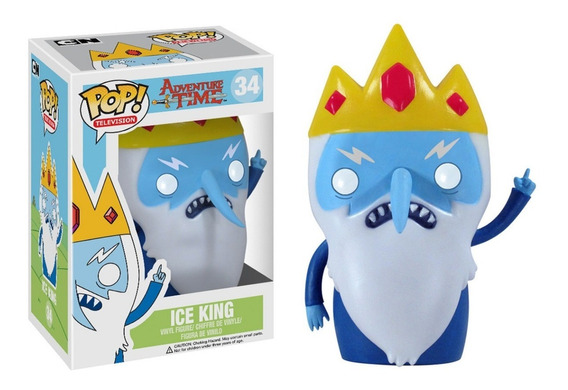 Pop! Funko Hora Da Aventura Rei Gelado Adventure Time - Ice