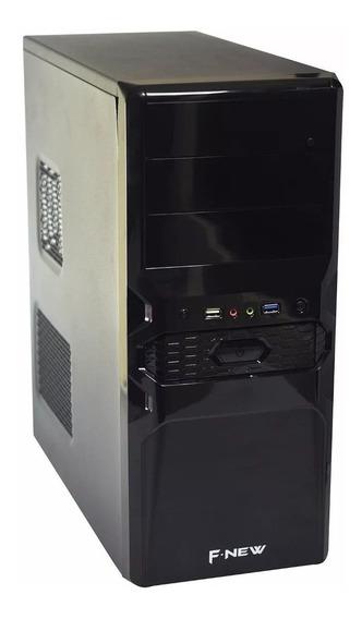 Cpu Quad Core 4gb Ddr3 Hd 320 + Wi-fi + Cabo De Energia