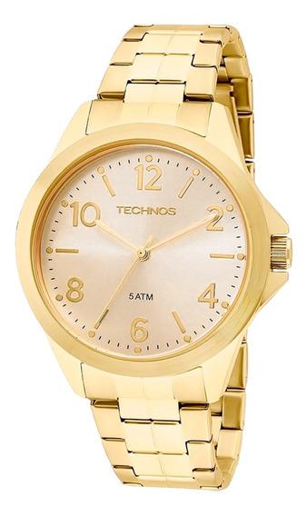 Relógio Masculino Technos Analógico 2035mek/4x - Dourado