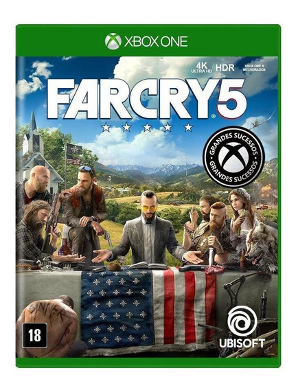 Far Cry 5 Xbox One Mídia Física Novo Lacrado