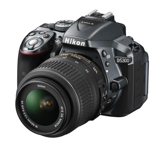 Nikon D5300 Kit 18-55 Vr 1 Año Garantia Cuotas Fijas