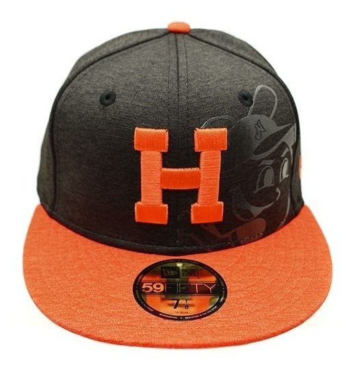 Gorra Naranjeros Black Shadow 59fifty New Era 7 1/8 Beisbol