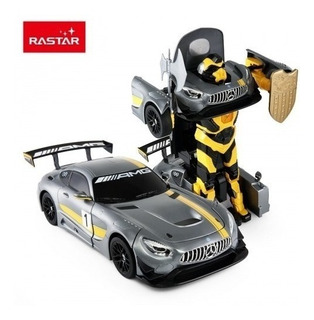 Transformers Robot Mercedez Amg Gt3 Auto Radio Control 2en1