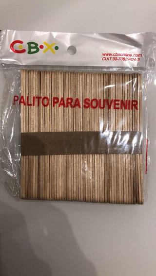 Palitos De Helado Para Souvenirs X 50. Oferta!