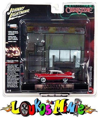 Johnny Lightning Christine Diorama Darnell´s Garage Lacrado