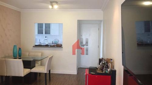 Apartamento À Venda, 65 M² Por R$ 490.000,00 - Vila Firmiano Pinto - São Paulo/sp - Ap0222