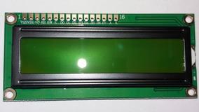 Display Lcd 16x2, Backlight Verde Amarelo, 5 V