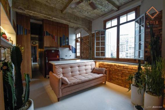 1 Dormitório Mais Charmoso No Centro Histórico Sp!!! Em Frente Ao Metrô!!! - Ap42398