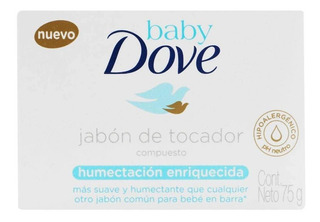 Dove Baby Jabon Hidrat Enriq X75